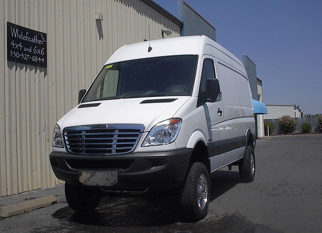 whitefeather sprinter 4x4 for sale autos post. Black Bedroom Furniture Sets. Home Design Ideas